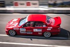 BMW 3 reeksenraceauto Stock Afbeelding