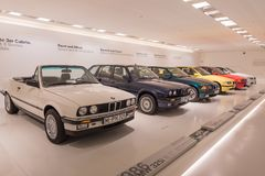 BMW 3 Reihen-Sammlung - Geschichte lizenzfreie stockfotografie