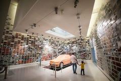 BMW-Retro- Auto Stockbild