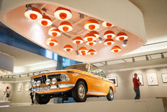 BMW-Retro- Auto Lizenzfreie Stockbilder