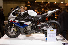BMW S 1000 RR sports motorbike Stock Images