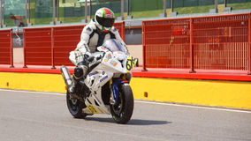 BMW S 1000 RR - Trofeo Ialiano Amatori Stock Image