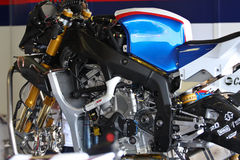 BMW S1000 RR without fairing Stock Photography