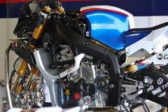 BMW S1000 RR senza carenatura Fotografia Stock