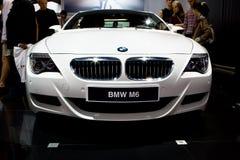 bmw samochodu m6 sporta biel obrazy stock