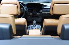bmw samochodu wnętrze zdjęcie royalty free