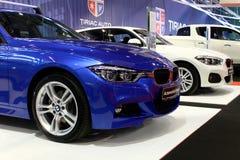 BMW samochody przy auto rynku expo Obrazy Royalty Free