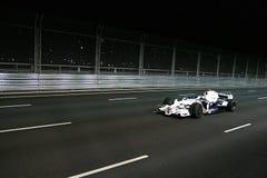 BMW Sauber en la raza F1 en Singapur. Imágenes de archivo libres de regalías