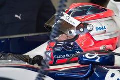 BMW-Sauber F1 da equipe, Robert Kubica, 2006 Imagem de Stock