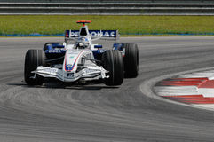 BMW Sauber F1 Team Nick Heidfe Stock Image