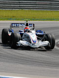BMW Sauber F1 Team Robert Kubi Royalty Free Stock Images