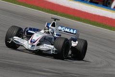BMW Sauber F1 Team Sebastian Vettel F1.07 Germany royalty free stock photo
