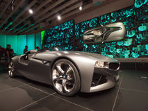 BMW schloß Laufwerk-Anblick an stockbilder