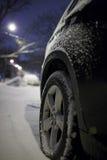 Bmw-Schnee Lizenzfreie Stockfotos