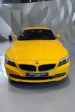 bmw sdrive23i gul z4 Fotografering för Bildbyråer