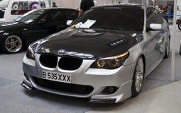 BMW serie 5 Royalty-vrije Stock Foto's