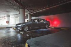 BMW 7 serie Fotografering för Bildbyråer