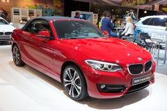 BMW 2 Serie Cabrio Stock Afbeelding