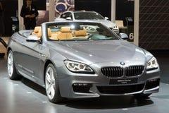BMW 6 serie Cabrio Royaltyfri Bild