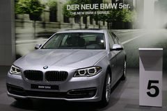 BMW 5 serie 520d Arkivbilder