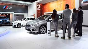 BMW 2-Series Active Tourer stock footage