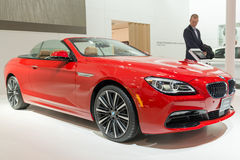 BMW 6 Series Cabriolet in the CIAS Stock Photos