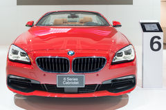 BMW 6 Series Cabriolet in the CIAS Royalty Free Stock Image