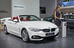 BMW 4 series Cabriolet Stock Images