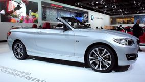 BMW 2 Series Convertible stock footage