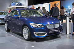 BMW 2 series Coupe Royalty Free Stock Image