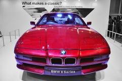 BMW 8 Series. BMW E31 8 Series at BMW World Singapore 2010 Stock Photos