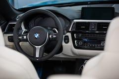 BMW 4 Series 4er cabrio Royalty Free Stock Photo