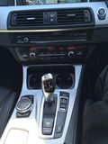 Bmw 5series gearstick Royalty Free Stock Photo