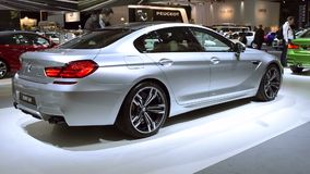 BMW 6 Series Gran Coupe sedan stock video footage