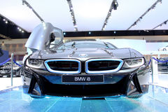 BMW series I8 innovation car Royalty Free Stock Images