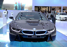 BMW series I8 innovation car Royalty Free Stock Image