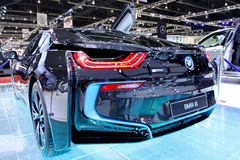 BMW series I8 innovation car Royalty Free Stock Photography