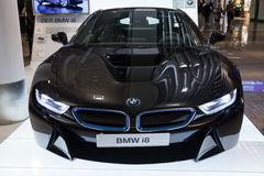 BMW series i8 innovation car Royalty Free Stock Photo