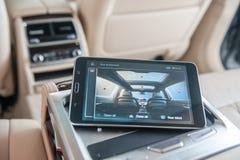 BMW 7 Series Interior Stock Image
