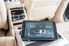 BMW 7 Series Interior Stock Images