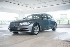BMW 7 Series Royalty Free Stock Image