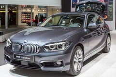 2015 BMW 1-Series. Presented the 85th International Geneva Motor Show Royalty Free Stock Photography
