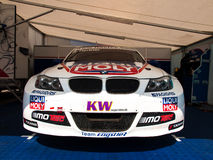BMW 3 series race car Royalty Free Stock Images