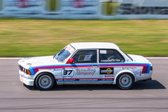 BMW 3 series racing car Stock Image