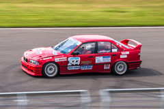 BMW 3 series racing car Stock Photography
