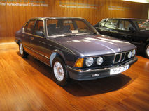 BMW 7 series Royalty Free Stock Photos