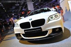 BMW 2 serii ścisłego sporta samochodu na pokazie przy BMW światem 2014 Zdjęcie Stock