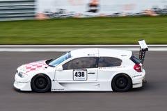 BMW 1 serii samochód wyścigowy Fotografia Royalty Free