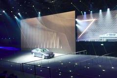 BMW-Show an den IAA-Autos Stockbild