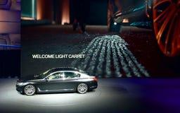BMW show på IAA-bilarna Royaltyfria Foton